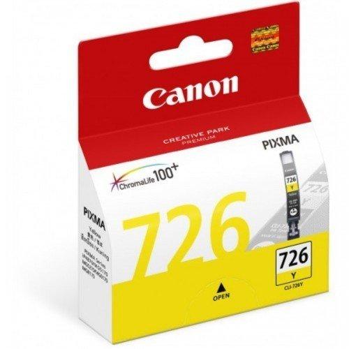 Canon 726 Ink Cartridge, Yellow
