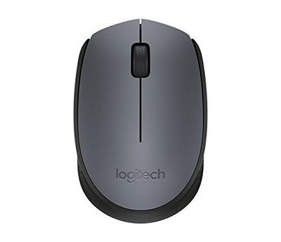 Logitech M171 Wireless Mouse, Grey
