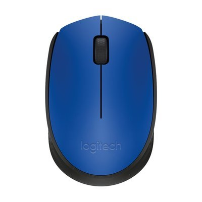 Logitech M171 Wireless Mouse, Blue