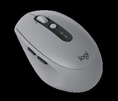 Logitech M590 Multi-Device Silent Wireless Mouse, Grey