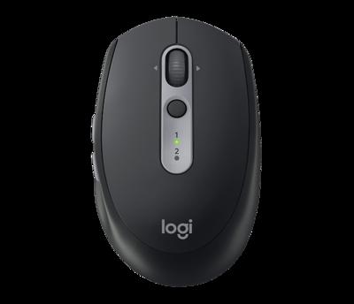 Logitech M590 Multi-Device Silent Wireless Mouse, Black