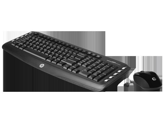 HP Multimedia Wireless Keyboard Mouse