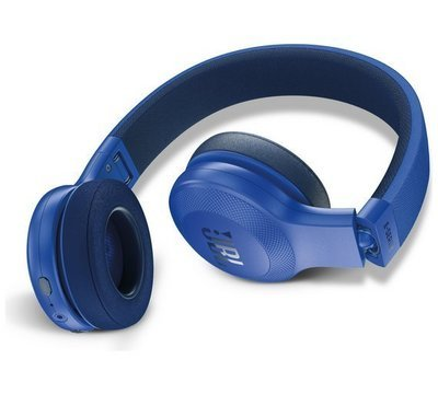 JBL E45BT Wireless Bluetooth On-Ear Headphones with Mic, Blue