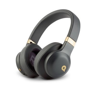 JBL E55BT QE Bluetooth Over-Ear Headphones with Mic, Black