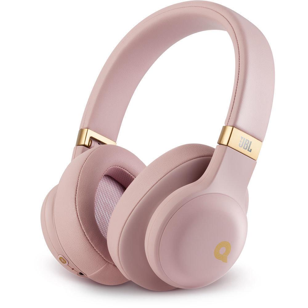 JBL E55BT Quincy edition Bluetooth Headset, Pink