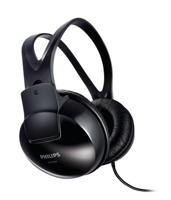 Philips SHP 1900/97 Over Ear Headphone Without Mic