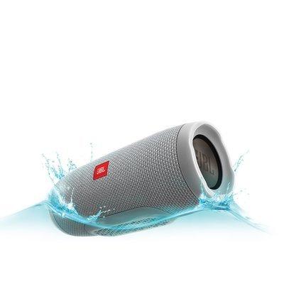 JBL Charge 3 Wireless Portable Speaker, Gray