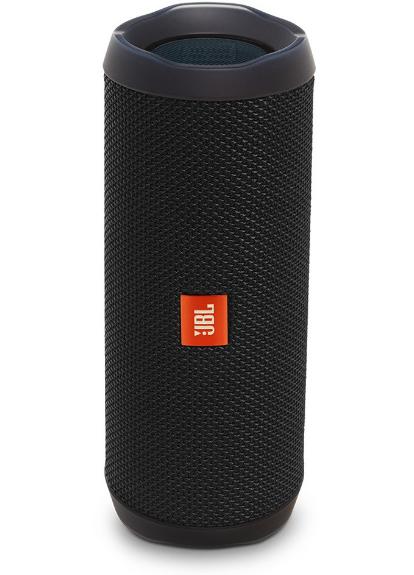 JBL Flip 4 Waterproof Portable Bluetooth Speakers, Black