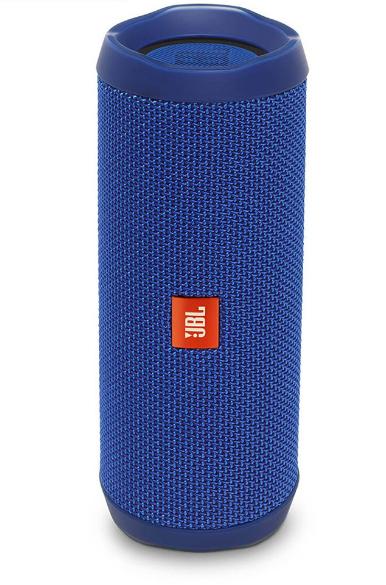 JBL Flip 4 Waterproof Portable Bluetooth Speakers, Blue