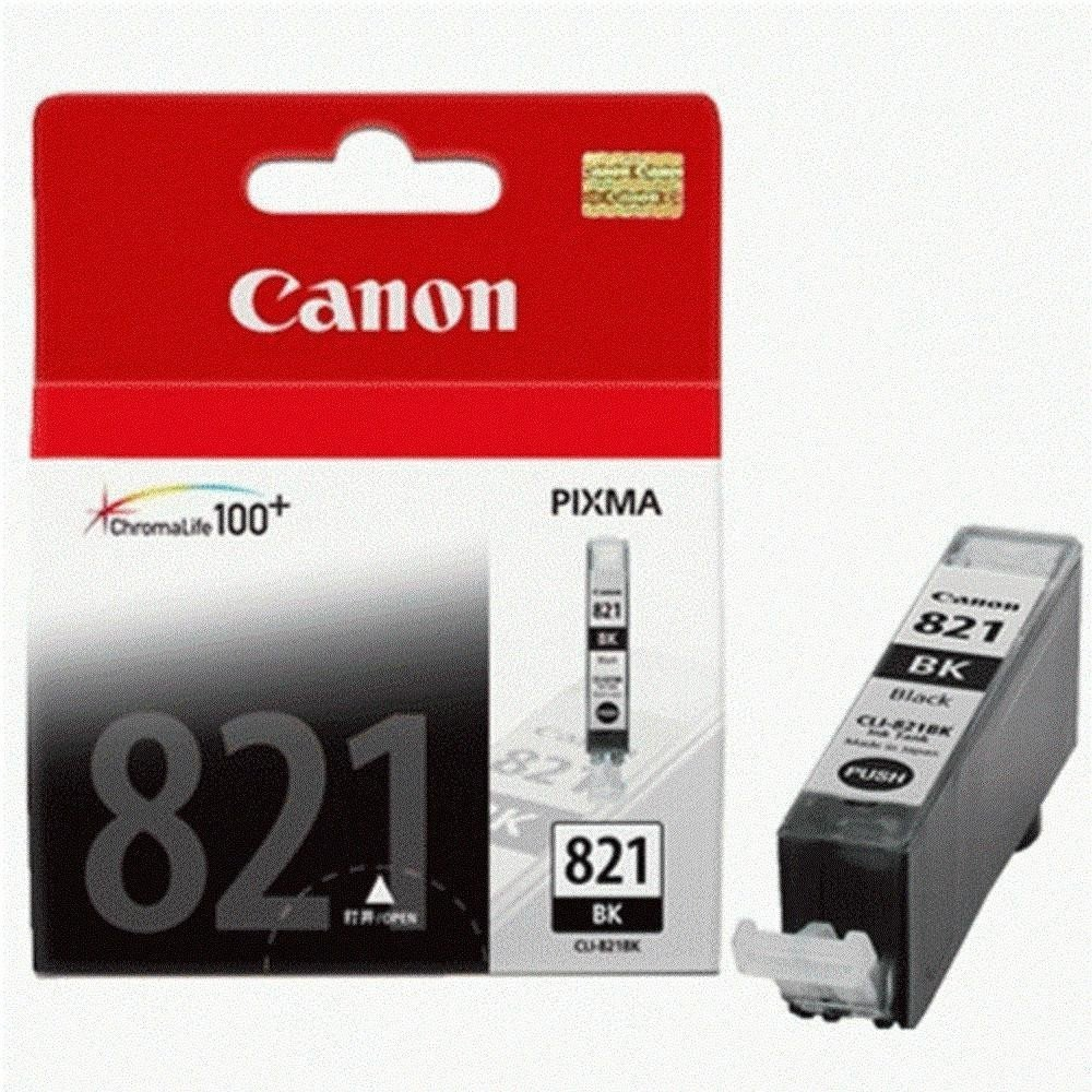 Canon 821 Ink Cartridge, Black