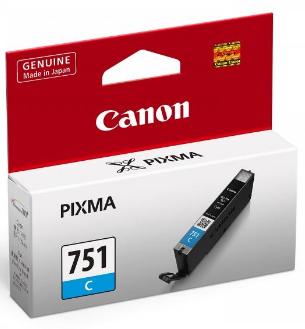 Canon 751 Ink Cartridge, Cyan