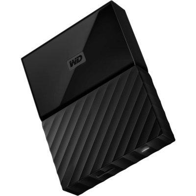 WD 1TB My Passport USB 3.0 External Hard drive, Black