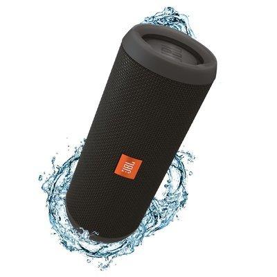JBL Flip 3 Waterproof Portable Bluetooth Speaker, Black