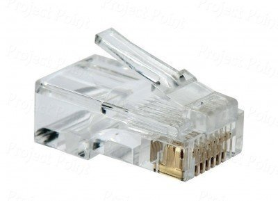 D-Link Cat-6 RJ 45 Connector, 100nos