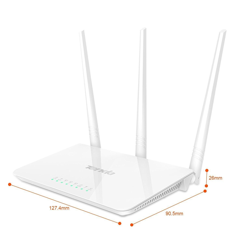 Tenda F3 Wi-Fi Router, WAN, 300mbps