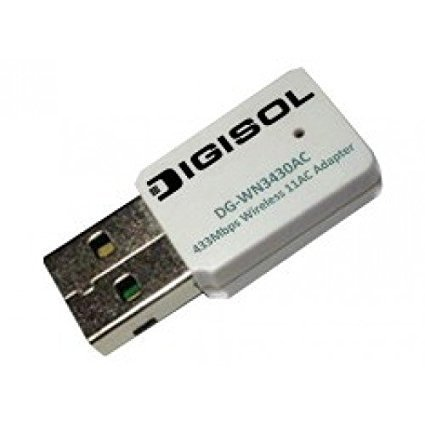 Digisol DG-WN3430ACs Wireless USB Adapter