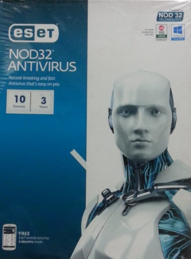 10 User, 3 Year, Eset Antivirus, NOD32