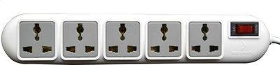 Rapoo Ideakard Smart Strip 5 Socket Surge Protector, SP50