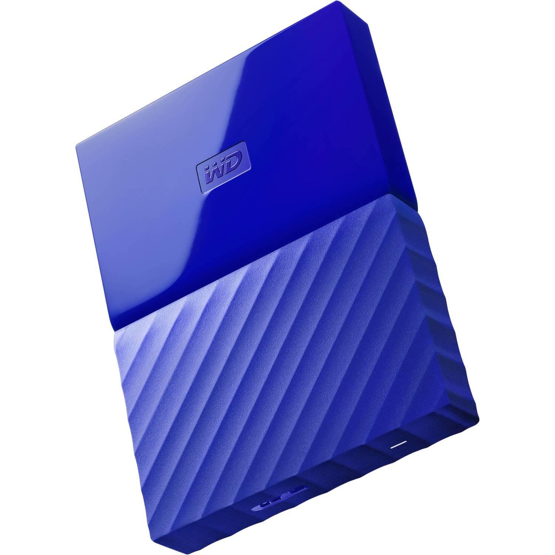 WD 2TB My Passport USB External Hard drive, Blue