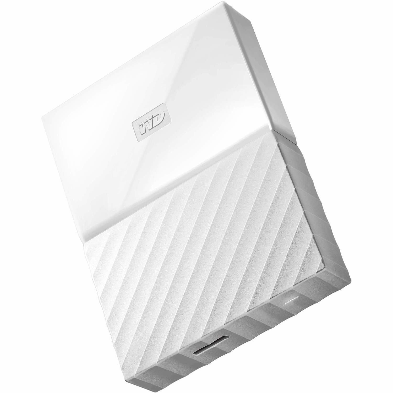 WD 4TB My Passport USB External Hard drive, White
