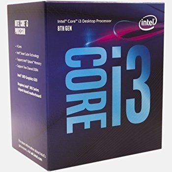 Intel 8Th Generation I3 8100 3.6GHZ Quad Core Processor