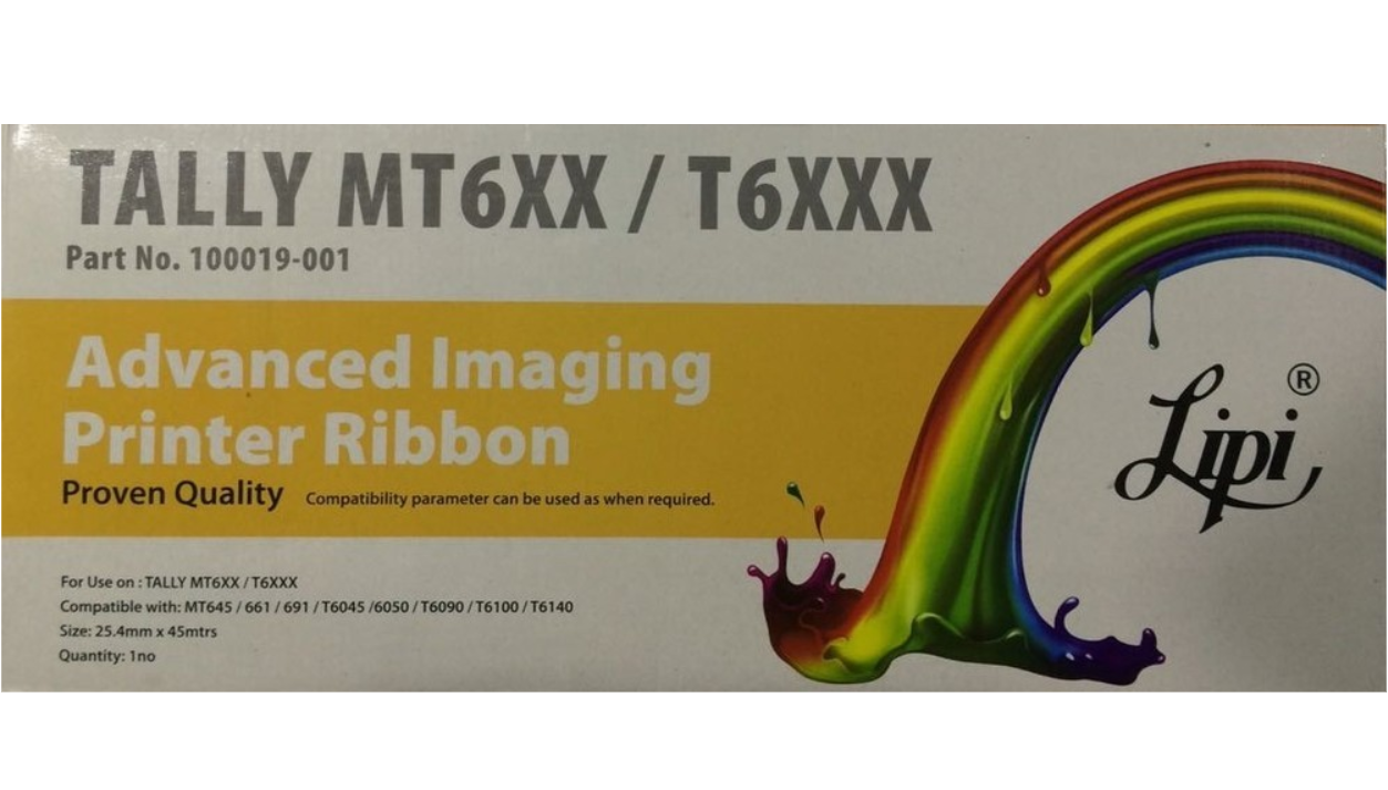Lipi MT600 / T6100 Ribbon Cartridge