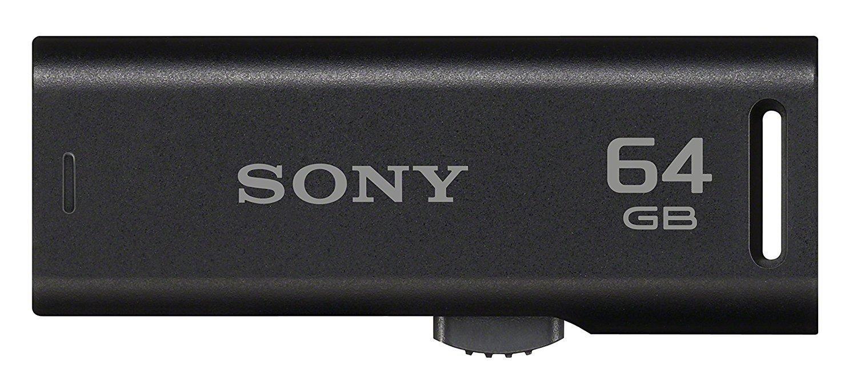 Sony 64GB Pen Drive, GR 2.0, Black