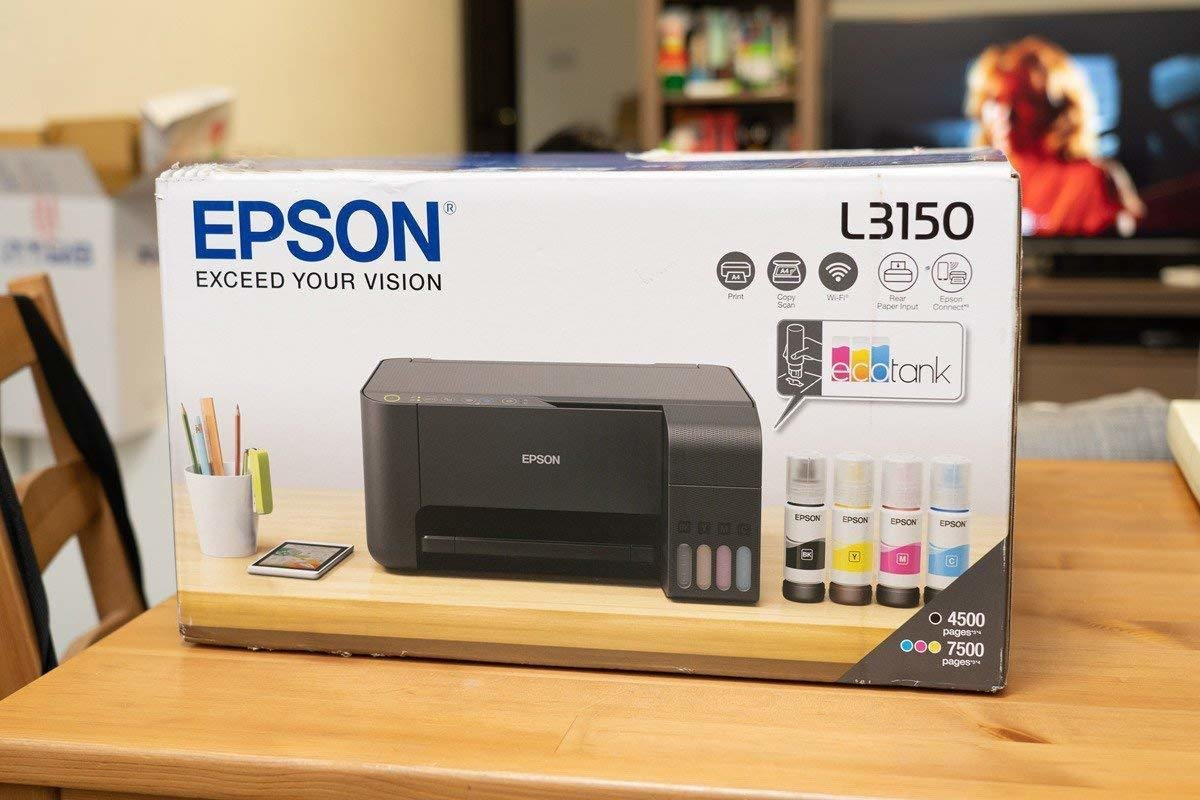 Epson EcoTank L3150 Wi-Fi Multifunction Ink Tank Printer, Rs.10930