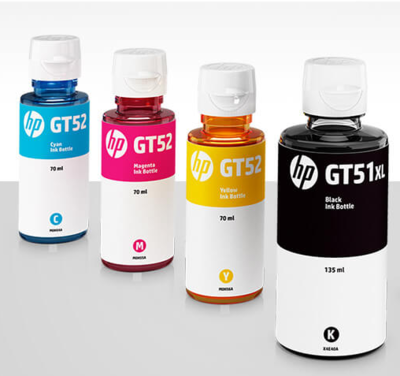 HP ink Bottle, GT Series