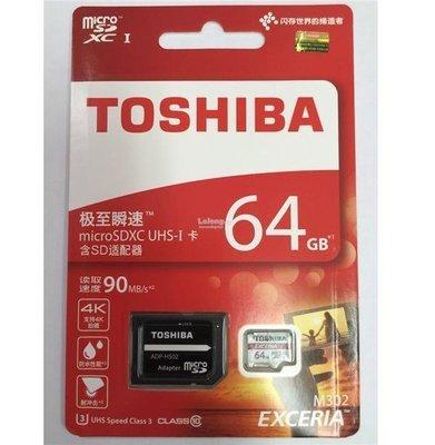 Toshiba 64GB Memory Card, 90mbps, M302, 4K