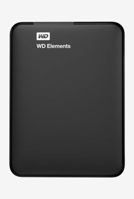 WD 1TB Elements External Hard Drive