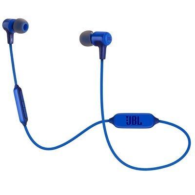 JBL E25BT Wireless In-Ear Headphones With Mic, Blue