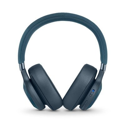 JBL E65BTNC Wireless Active Noise Cancelling Headphones, Blue