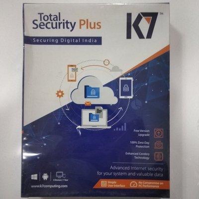 5 User, 1 Year, K7 Total Security Plus