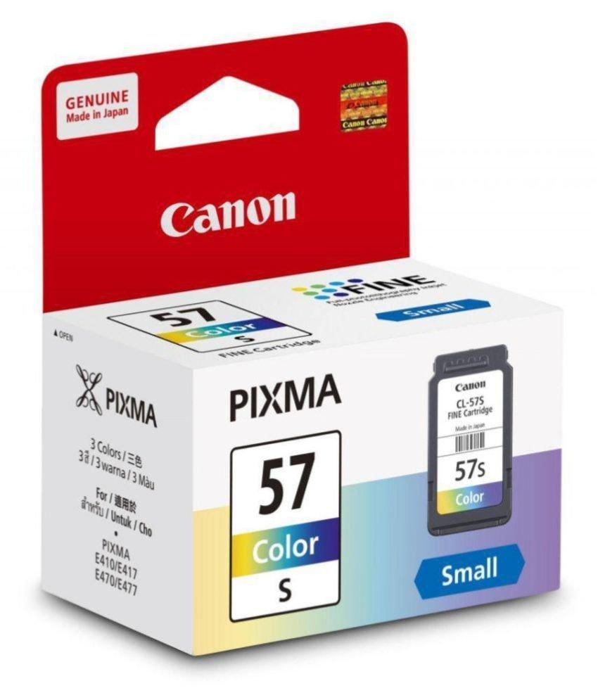 Canon 57 Ink Cartridge, Small Tri-Color