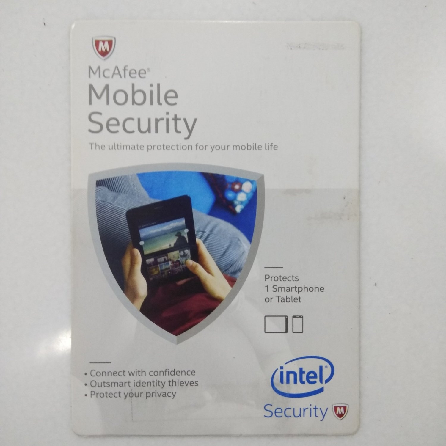 1 Device, 1 Year, McAfee Mobile Security, For Android