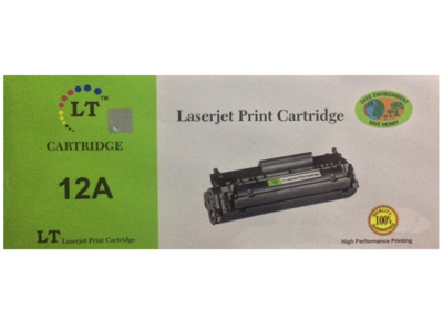 LT 12A Toner Cartridge, Black
