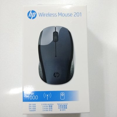 HP 201 Wireless Mouse, Black, 3XA55AA