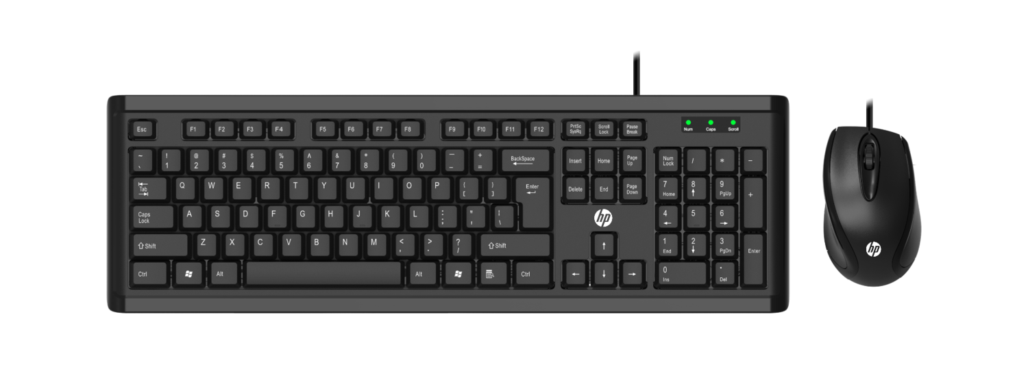 HP Power Pack Keyboard Mouse, Combo