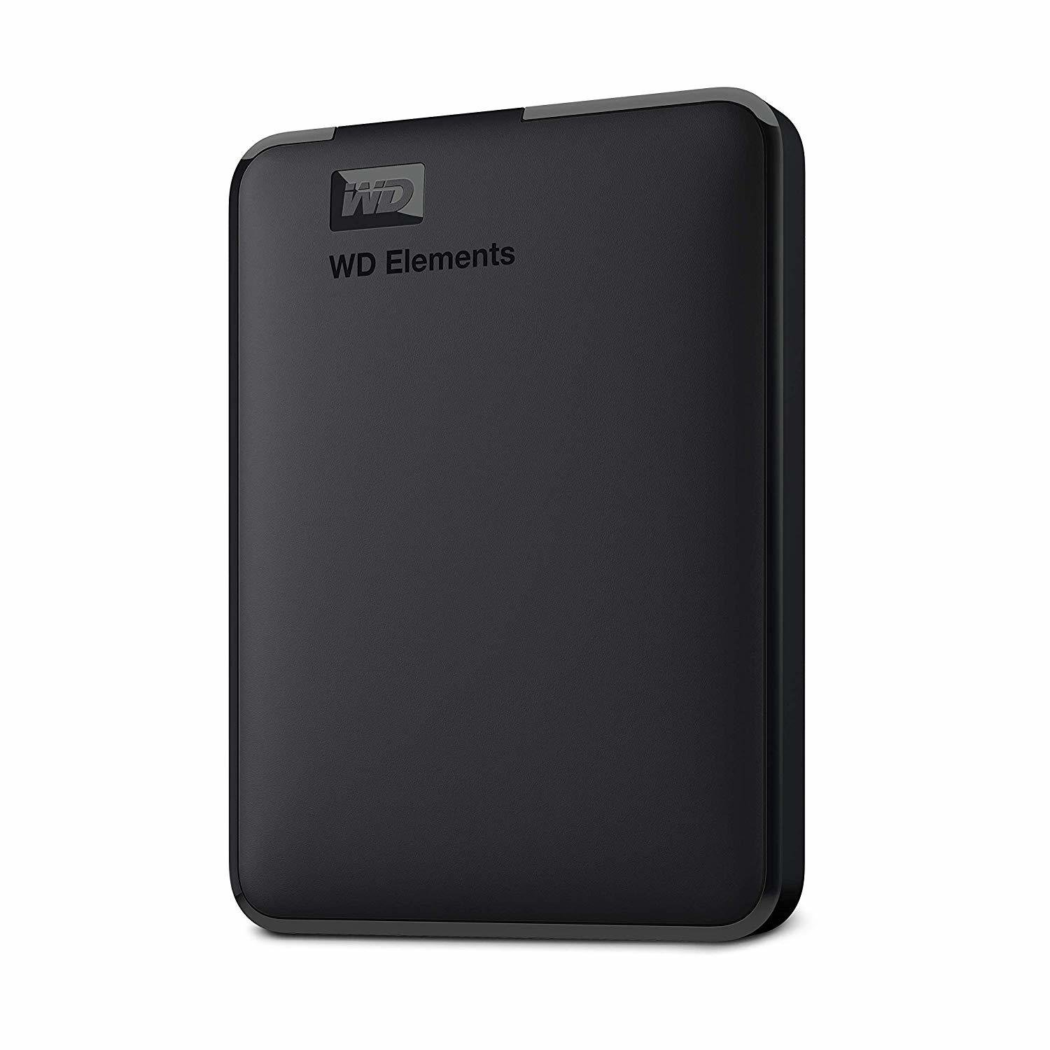 WD 2TB Elements Portable External Hard Drive, Black