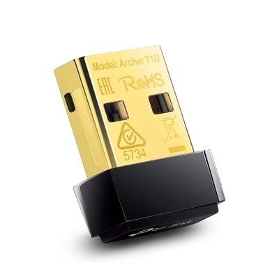 TP Link Archer T1U Wireless Nano USB Adapter, AC450