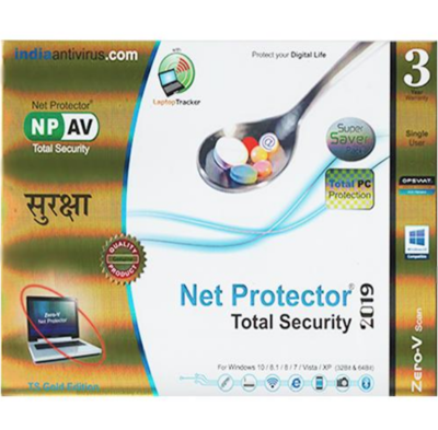 1 User, 3 Year, Net Protector Total Security