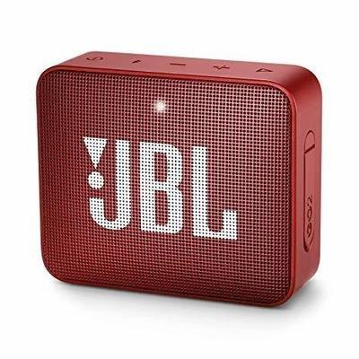 JBL Go 2 Bluetooth Speaker, Red