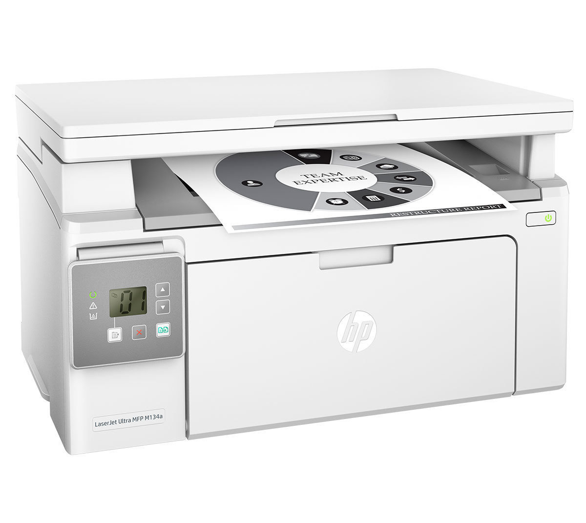 HP Ultra MFP M134a All In One Laser Printer