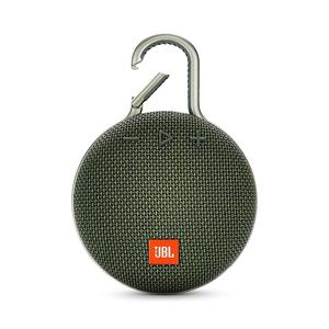 JBL CLIP 3 Bluetooth Speaker, Green