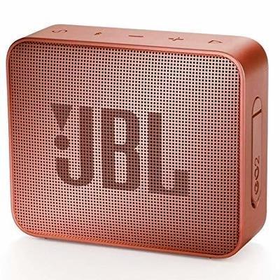 JBL GO 2 Bluetooth Waterproof Speaker, Cinnamon