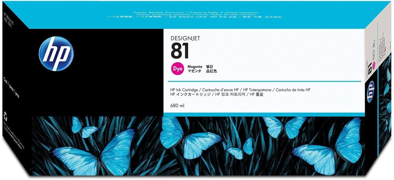 HP 81 Printhead, Magenta & Cleaner