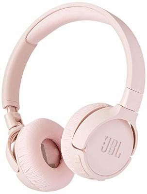 JBL Tune 500BT Powerful Bass Wireless On-Ear Headphone-pink