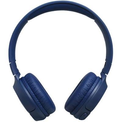 JBL Tune 500BT Powerful Bass Wireless On-Ear Headphones , Blue