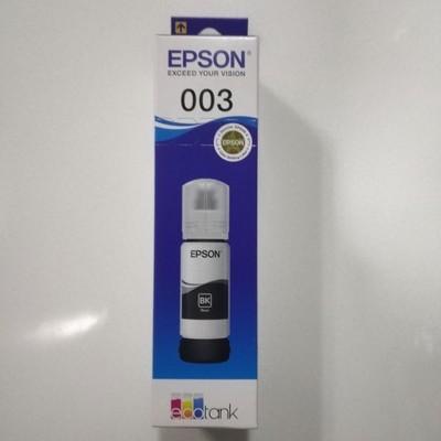 Epson 003 Ink Bottle, Black, 65ml
